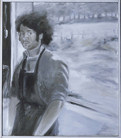 Self-Portrait in Vermont 1973