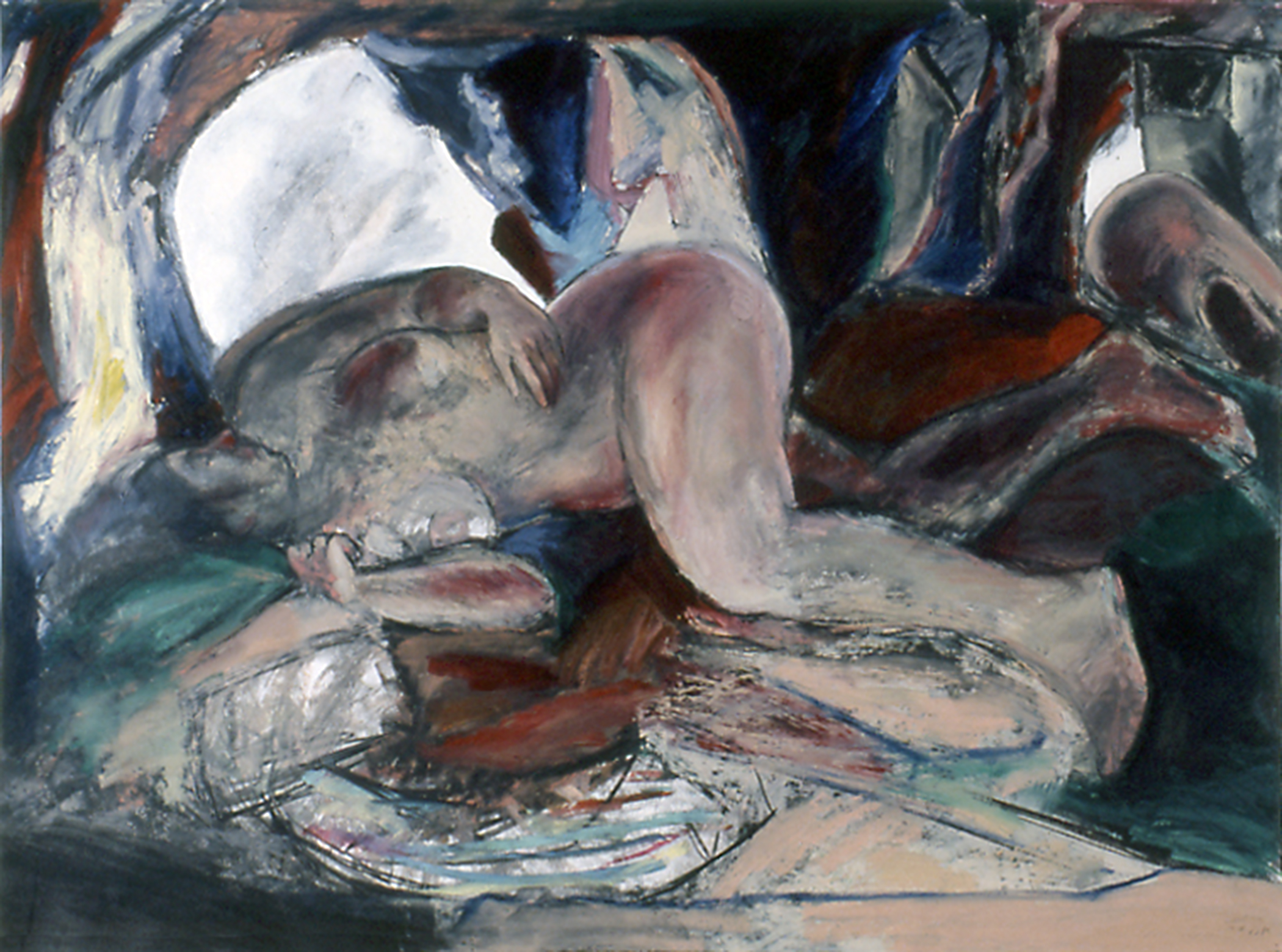 Reclining Nude (3) 1980