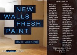 New Walls Fresh Paint 2010