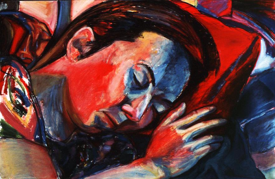Portrait of Daria Dorosh Sleeping