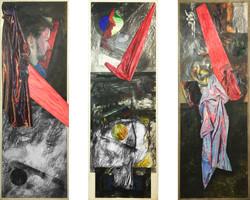 Inventory panels w. Self-Portrait