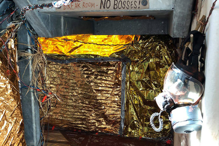 Martian Chocolate installation