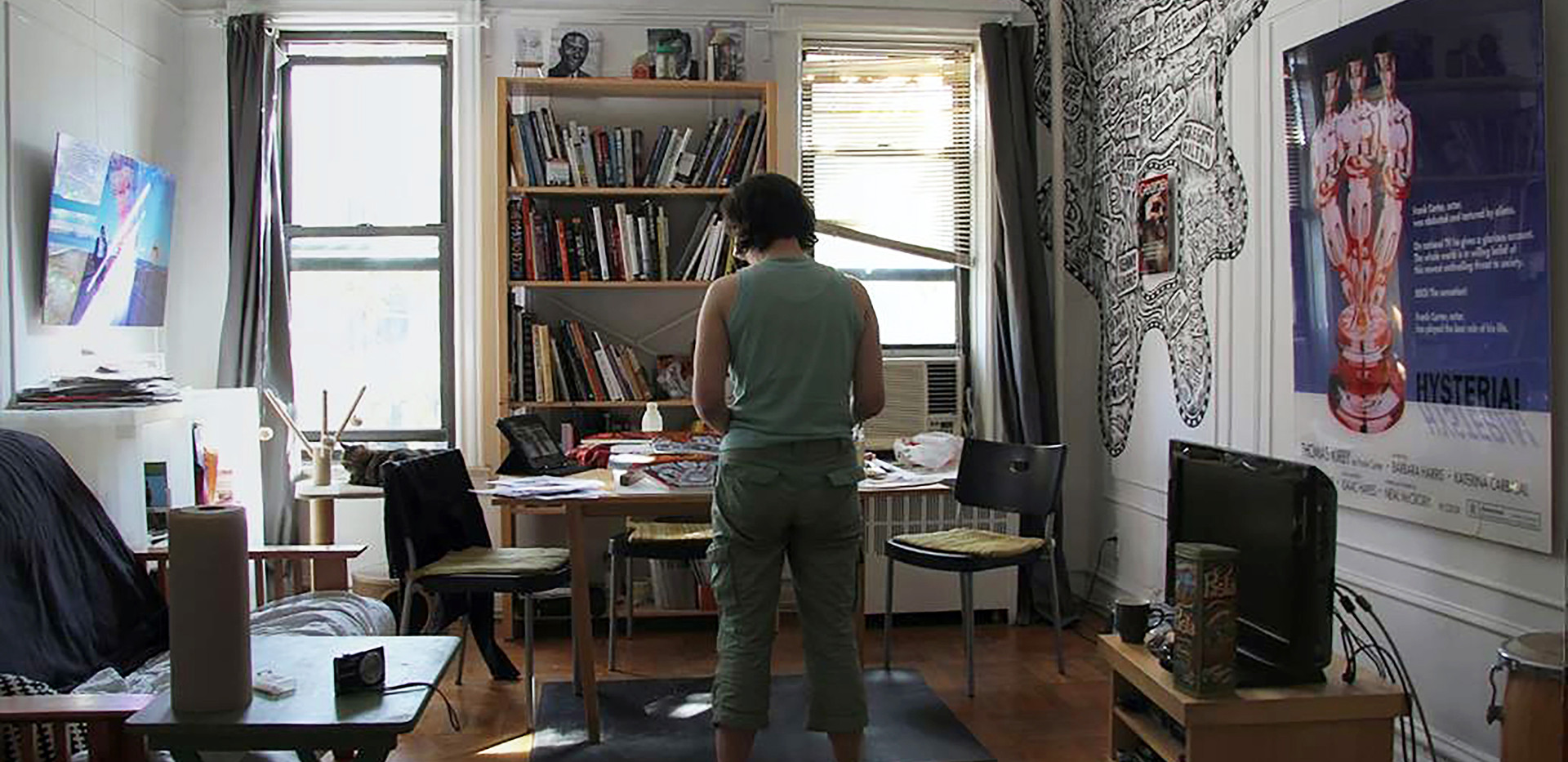Curator Elise Tak in her Brooklyn apartment