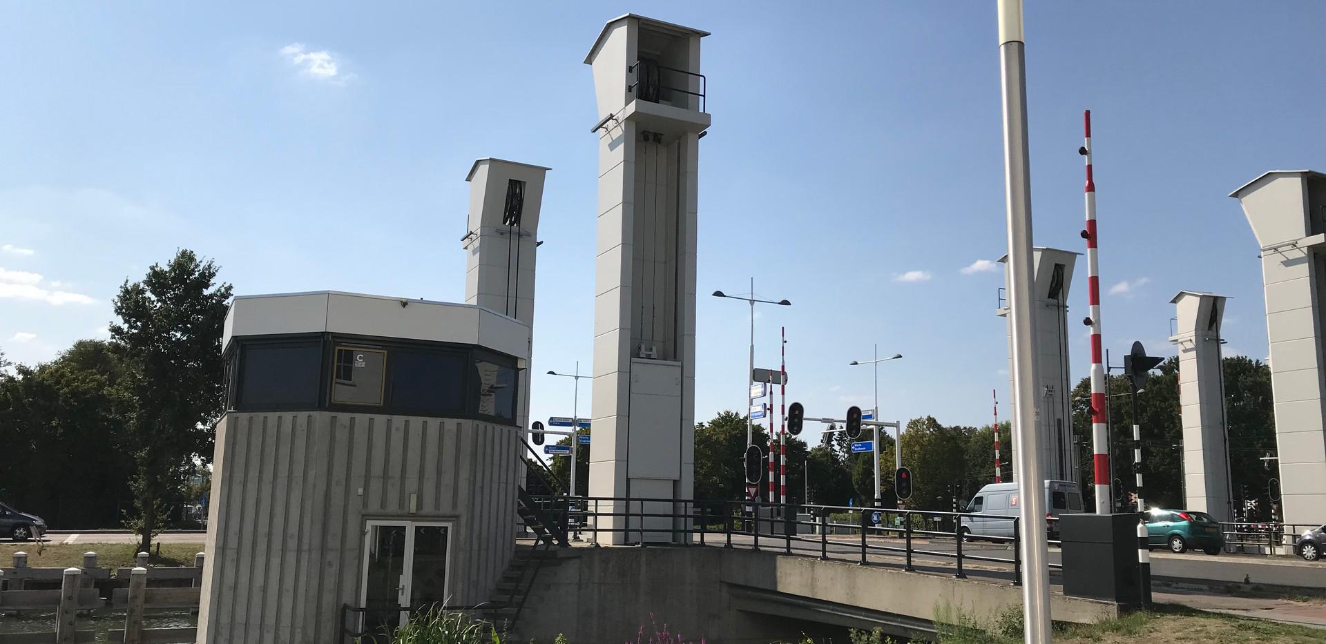 """De Brugwachtershuisje (Bridge Watchman's House), venue for """"Misery of Men Suite"""" installation"""