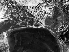 detail: Night Watch 10, graphite, 36 x 44 in./91 x 111 cm., 2017