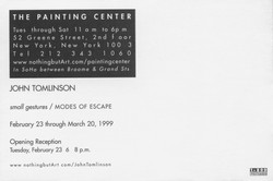 One Person Show 1999