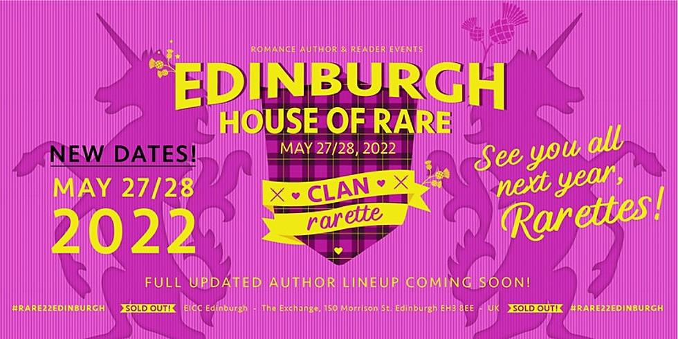 RARE2022 Edinburgh