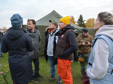 Vот! как уже несколько дней у нас снимает фильм режиссёр Глеб Орлов со своей командой.