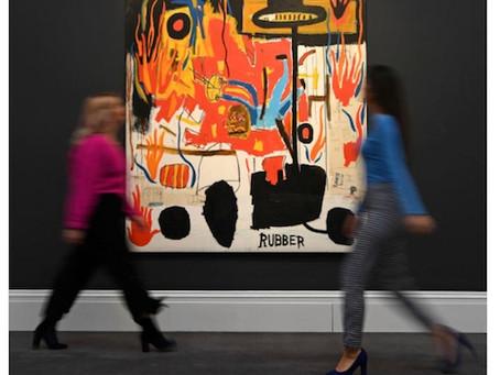 Comment l'art contemporain est devenu un incontournable des enchères. (Le Monde du 7 avril)