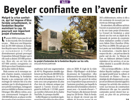La fondation Beyeler à Bâle s'agrandit