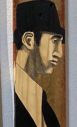 Christoff Baron - Gueules de bois 5  - 120x14x2 cm