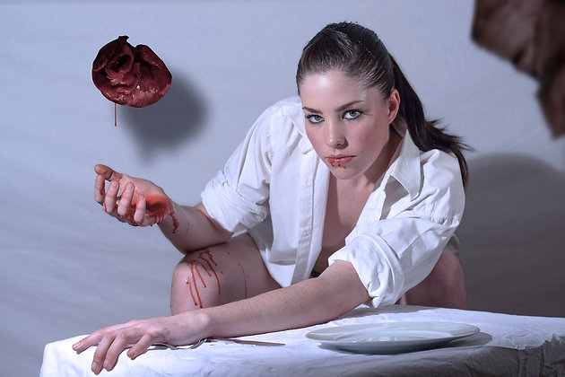 Olivier Lelong - Medical Whore - 80x120 cm