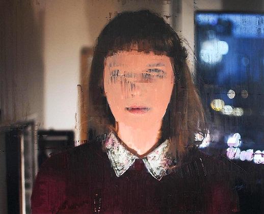 Şahin Çelikten - Portrait - 62x76 cm, encadré