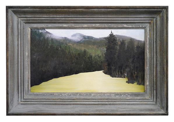 Patrick Cornillet - Rio de oro -  30x43cm - Huile sur bois