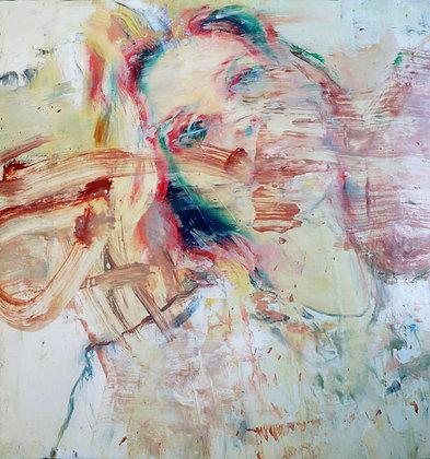 Leonardo Vargas - Portrait - 28,5x28,5 cm - non encadré