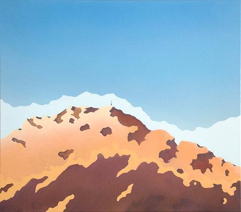 Lucas Pfeiffer - Le sommet - 70x80cm