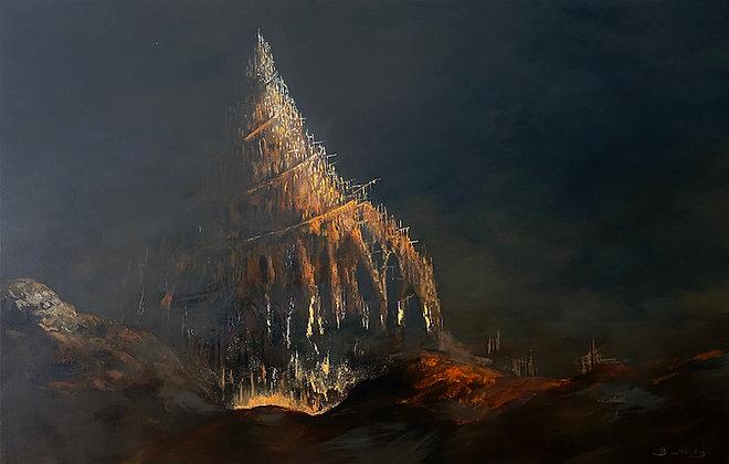Patrick Bastardoz - Babel - 90x140cm