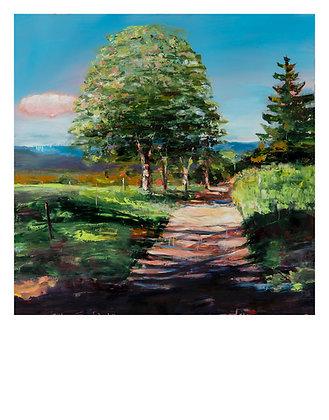 Marie-Amélie Germain - Paysage 2 - 120x88,5 cm, encadré