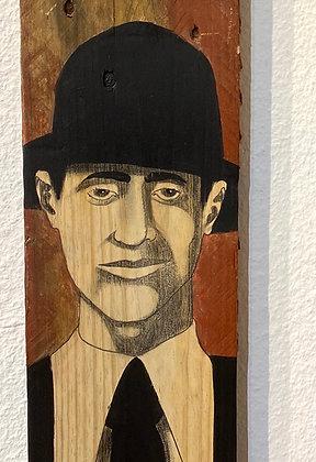 Christoff Baron - Gueules de bois 4 - 120x14x2 cm