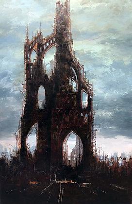 Patrick Bastardoz - Babel - 130x85cm