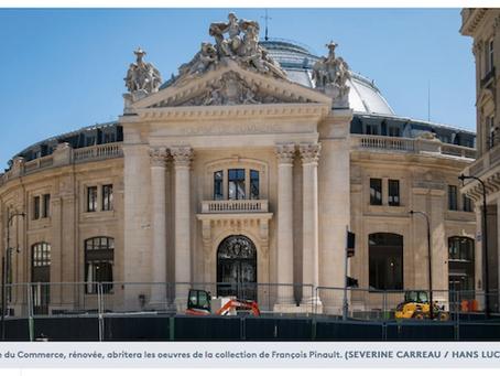 La Bourse de commerce, nouveau musée d'art contemporain abritant la collection de François Pinault,