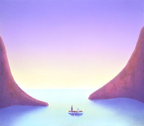 Lucas Pfeiffer - L'attente - 70x80cm