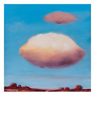 Marie-Amélie Germain - Nuages 1 - 76x56,5 cm, encadré