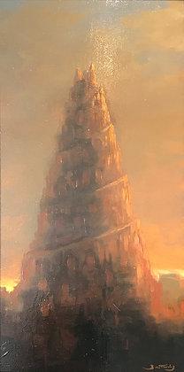 Patrick Bastardoz - Babel - 60x30cm