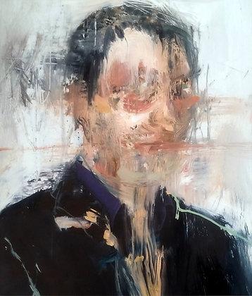 Leonardo Vargas - Portrait - 29x21 cm - encadré