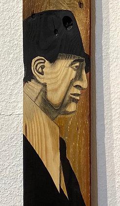 Christoff Baron - Gueules de bois 2  - 120x14x2 cm