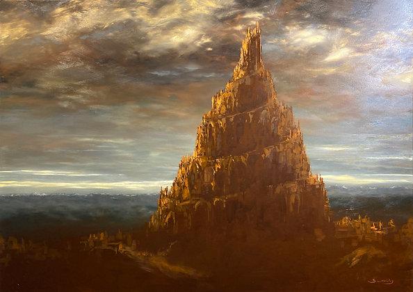 Patrick Bastardoz - Babel - 100x140cm