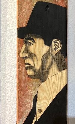 Christoff Baron - Gueules de bois 3  - 120x14x2 cm