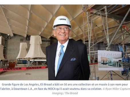 Mort d'un grand mécène de l'art contemporain... Eli Broad