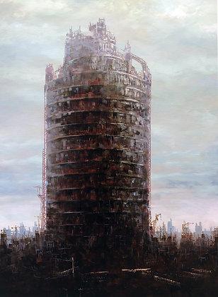 Patrick Bastardoz - Babel - 120x80cm