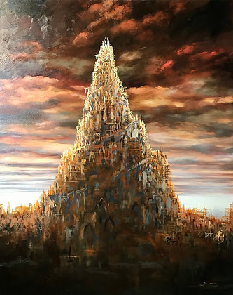 Patrick Bastardoz - Babel - 100x81cm