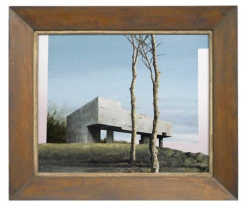 Patrick Cornillet - Brutal -  66x77cm - Huile sur bois