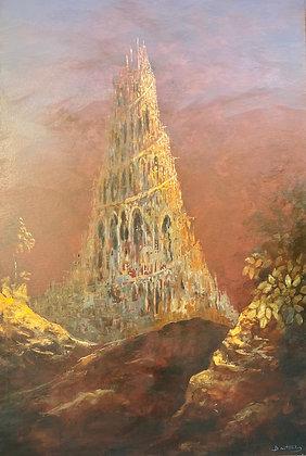 Patrick Bastardoz - Babel - 120x81cm