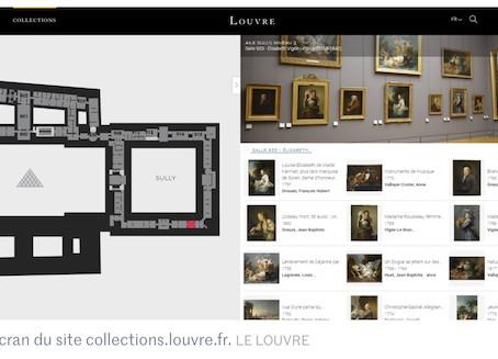 Le Louvre lève le voile, en ligne, sur ses collections.