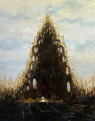 Patrick Bastardoz - Babel - 92x73cm