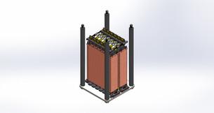 Short pulse transformer 3D model