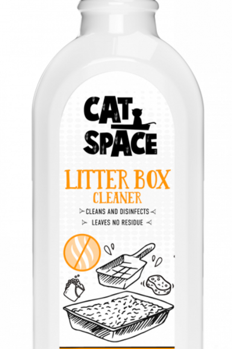Amazonia Cat Space Litter Box Cleaner Natural-Safe Effective