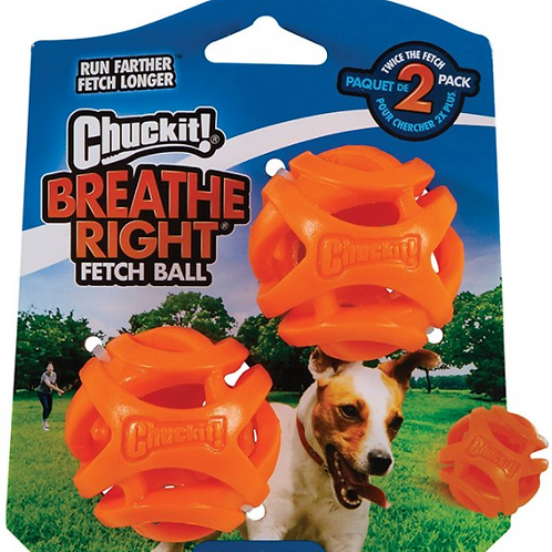 Chuck It! Breathe Right Fetch Ball