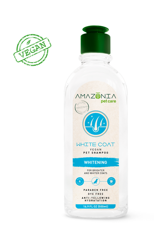 Amazonia White Coat Vegan Pet Shampoo