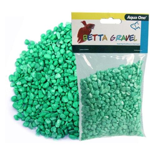 Aqua One Metallic Green Betta Gravel