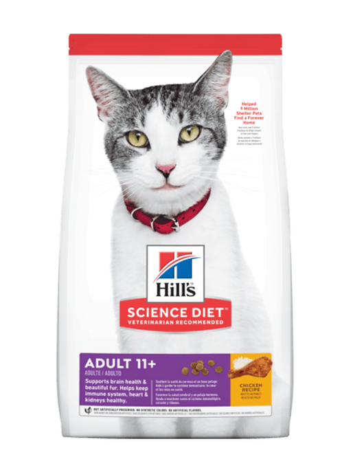 Hills Science Diet Adult 11+ 3.17kg
