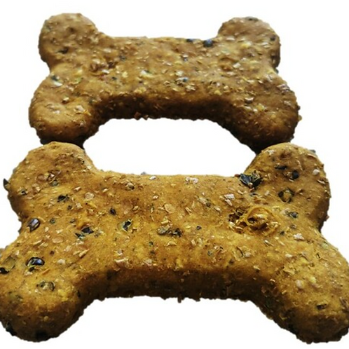 Hemp Cookies with Turkey and Turmeric Dog Treats 350g