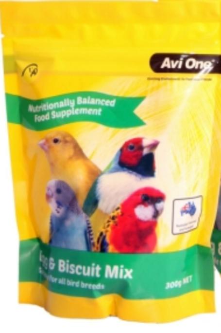 Avi One Egg & Biscuit Mix Bird Food
