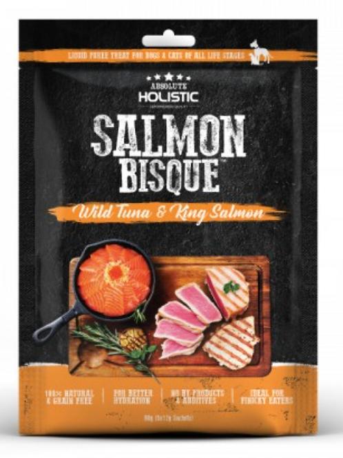 Absolute Holistic SALMON BISQUE (Wild Tuna & King Salmon)