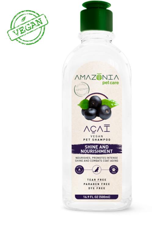 Amazonia Acai Vegan Pet Shampoo Shine & Nourishment