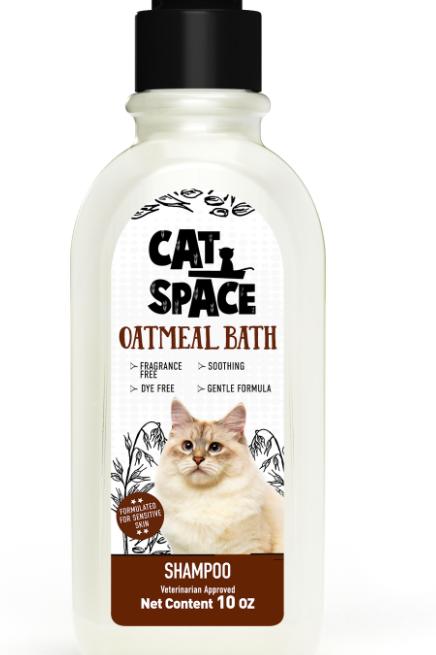 Amazonia Cat Space Oatmeal Bath